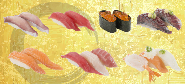 お寿司の美味しさそのままに、もっと気軽にリーズナブルに。